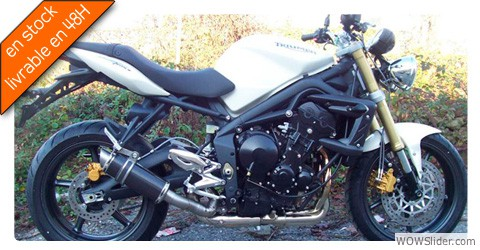SPEED TRIPLE 1050 ROND COURT CARBONE BAS